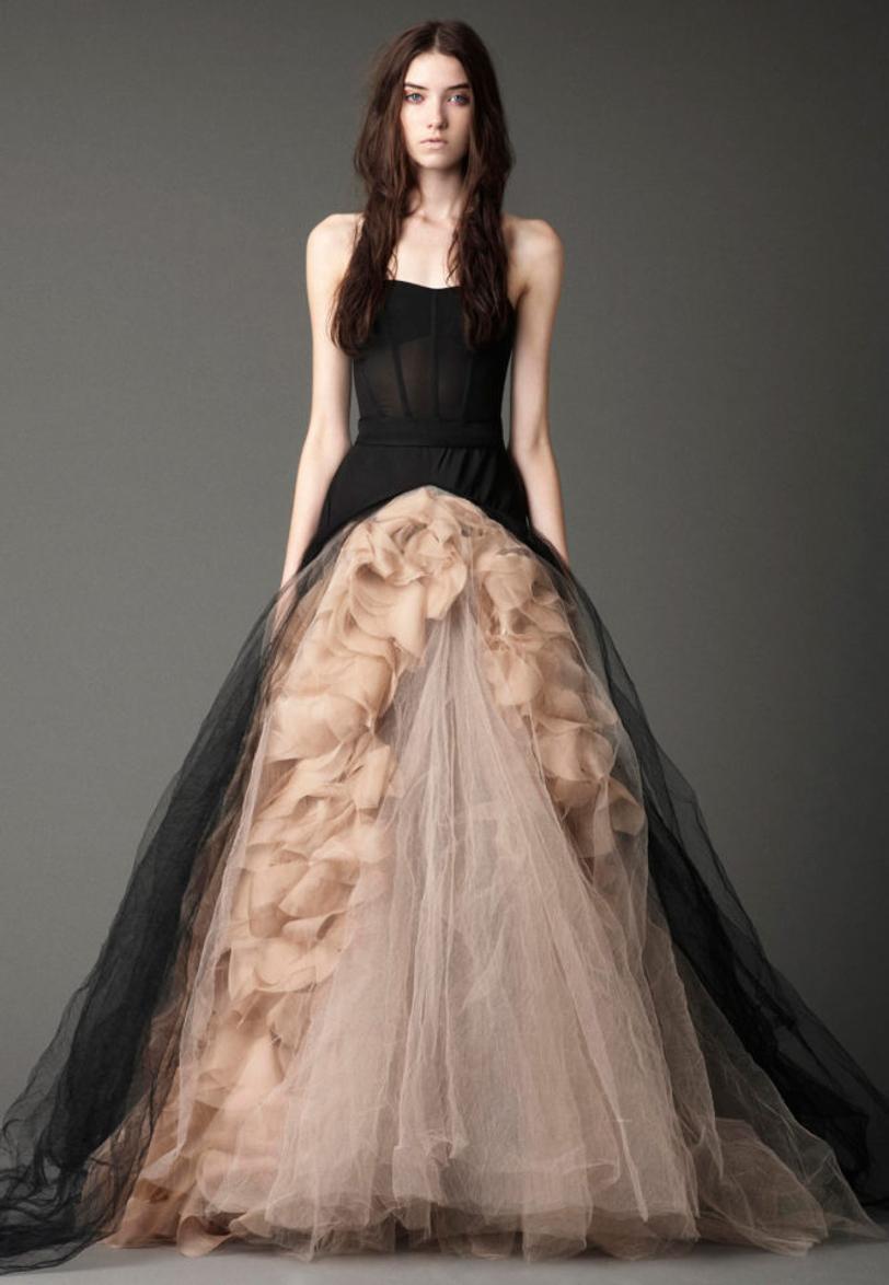 Los Mejores Vestidos De Novia Negros De Vera Wang Woowday