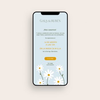 Invitaciones de boda digitales para whatsapp baratas