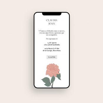 Envia invitaciones de boda online baratas