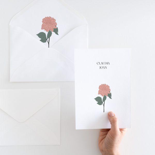 Invitaciones de calidad minimalistas