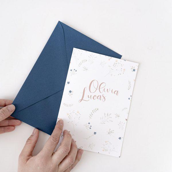 Invitaciones boda campestres
