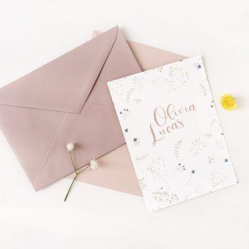 Invitaciones boda bohemias