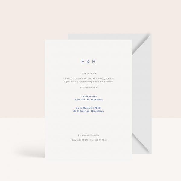 Invitaciones de boda de tendencia 2021-2022