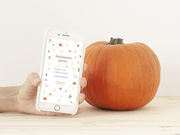 invitación whatsapp halloween