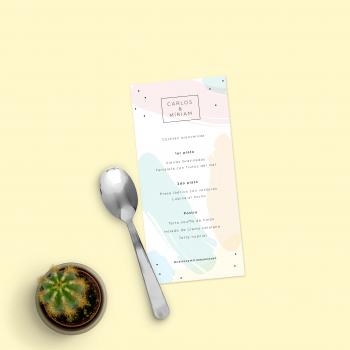 menu nupcial