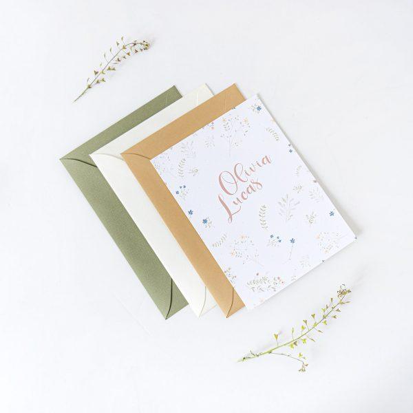 invitaciones boda estilo rustico boho