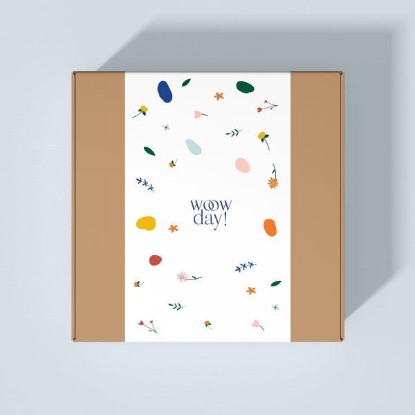 caja de envío de invitaciones de boda