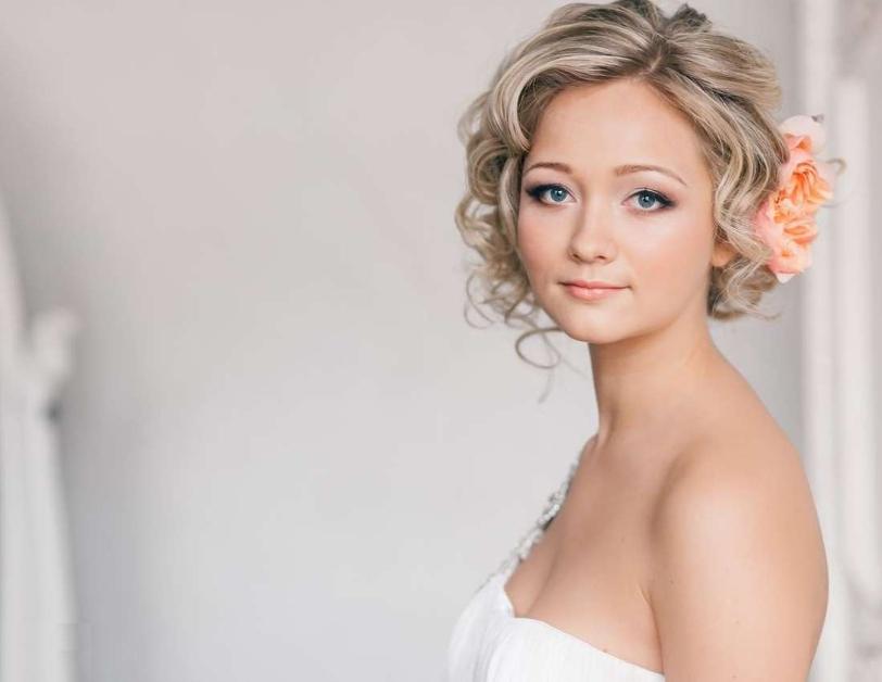 15 peinados para novias con el cabello corto woowday - Peinados de novia actuales ...